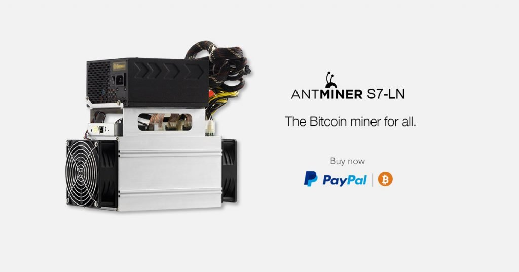antminer s7-ln paypal