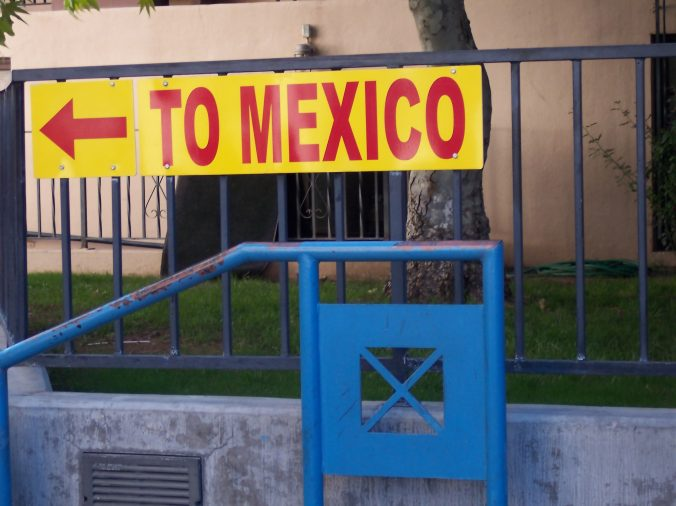 US mexico border bitcoin
