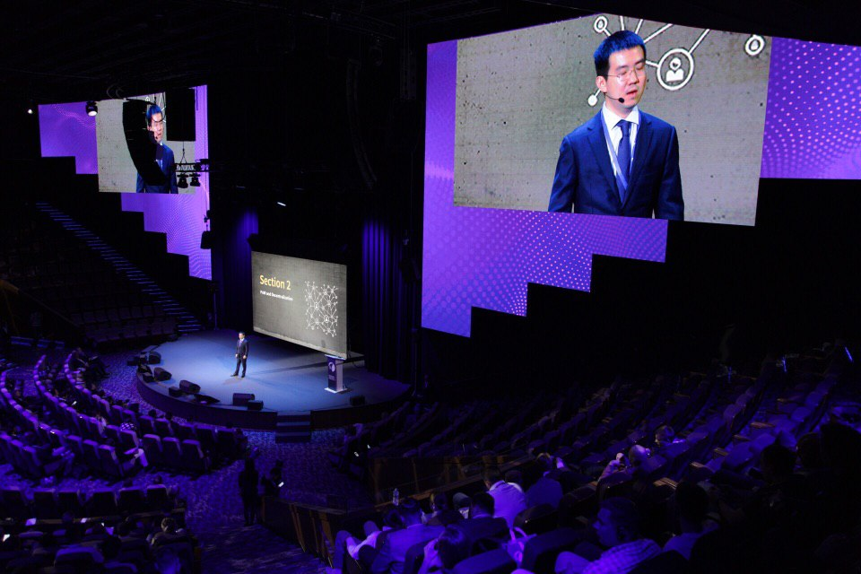 Jihan Wu at The Way Summit 2019 Moscow